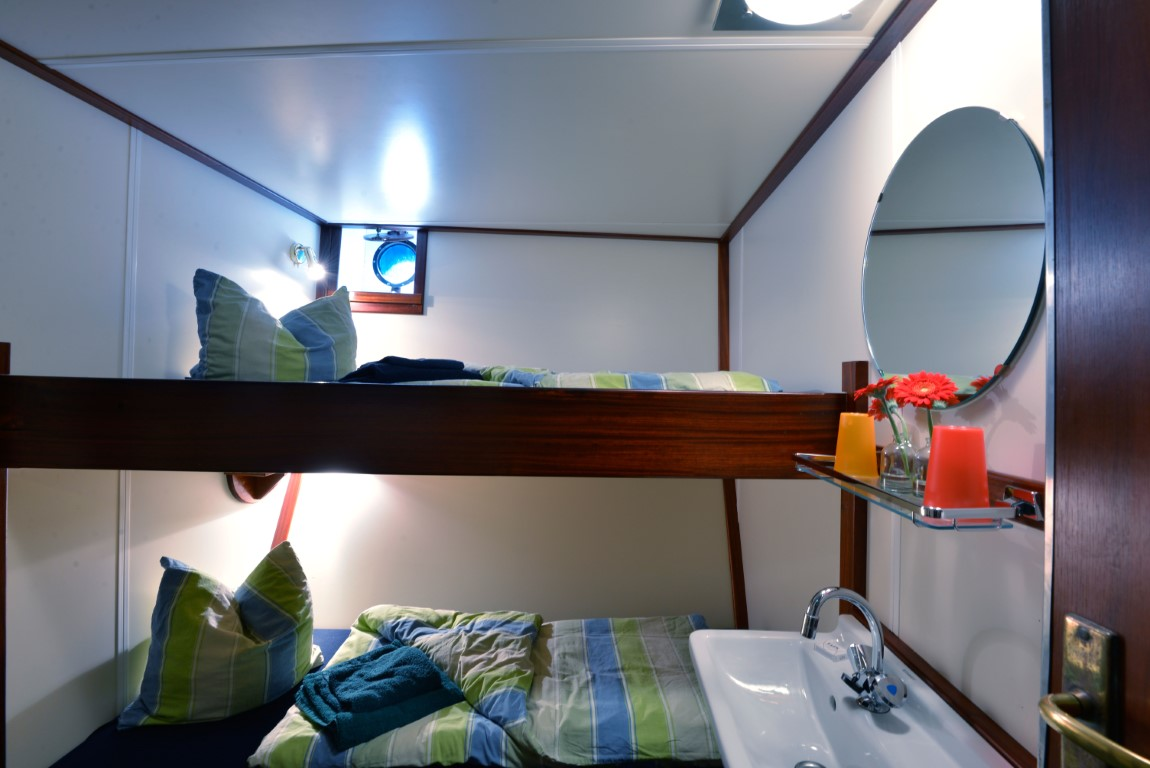 Standard cabin at the Antigua